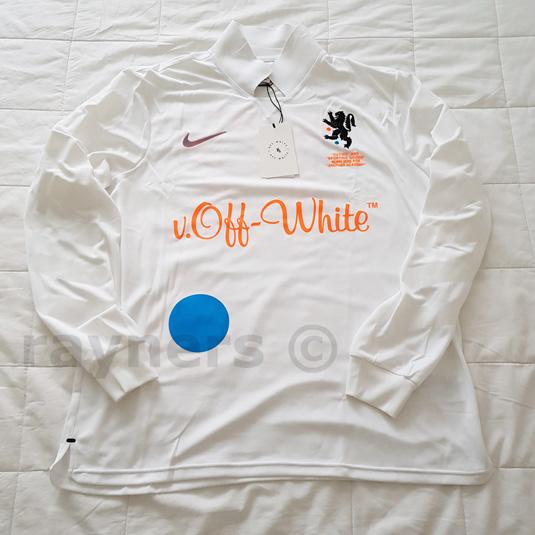 Détails sur BNWT Nike X Blanc cassé MEDIUM Home Football Jersey Blanc Total Orange AA3300 100 afficher le titre d'origine